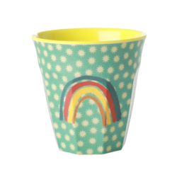 Melamine beker Rainbow and Stars