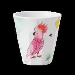 Melamine beker Cockatoo