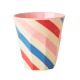 Melamine beker Candy Stripes
