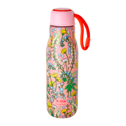 Stainless Drinking Bottle Coral Lupin