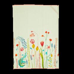 Theedoek katoen Summer Flowers