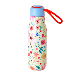 Stainless Drinking Bottle Selmas Flower