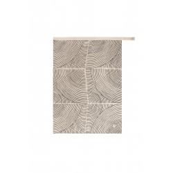 Zusss theedoek grafisch patroon zand