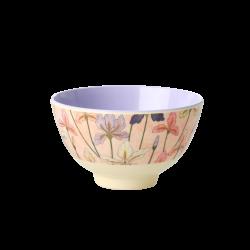 Melamine bowl small Iris print