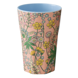 Melamine beker Tall Lupin Coral
