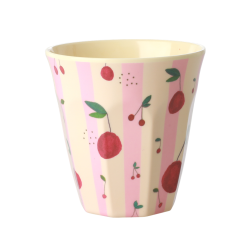 Melamine cup Cherry