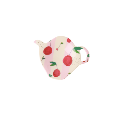 Tea bag plate Cherry