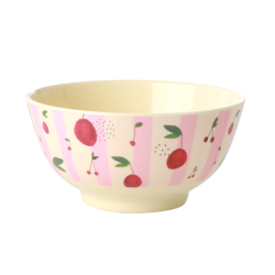 Melamine bowl medium Cherry