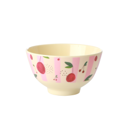 Melamine bowl small Cherry