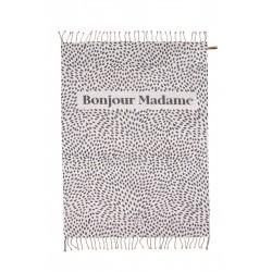 "Zusss zomers plaid ""Bonjour Madame"" 215x250 cm"