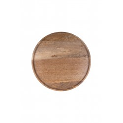 Zusss houten bord 30cm mangohout