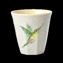 Melamine beker Hummingbird