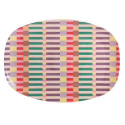 Rice plate Summer Stripes