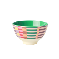 Melamine bowl small Summer Stripes