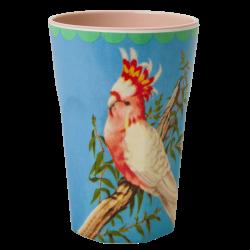 Rice Melamine Tall Cockatoo