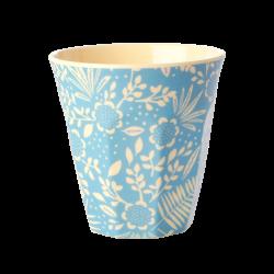 Melamine beker Fern Flower blue