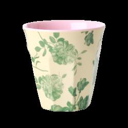 Melamine beker Green Rose