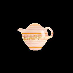 Tea Bag Plate Happy
