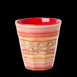 Melamine beker Happy Pink