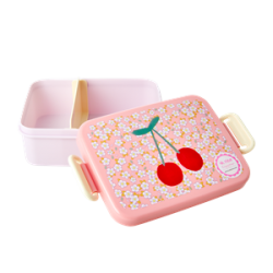 Lunchbox Small Flowers and Cherry