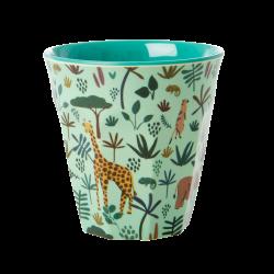 Rice Melamine cup Jungle Green
