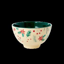 Rice Small Bowl X-mas Cream
